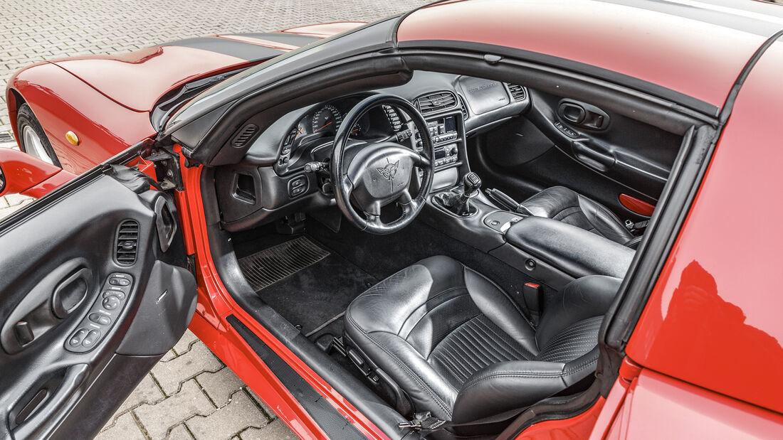 Chevrolet Corvette C5, Interieur
