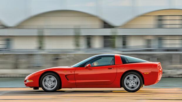 Chevrolet Corvette C5, Seitenansicht