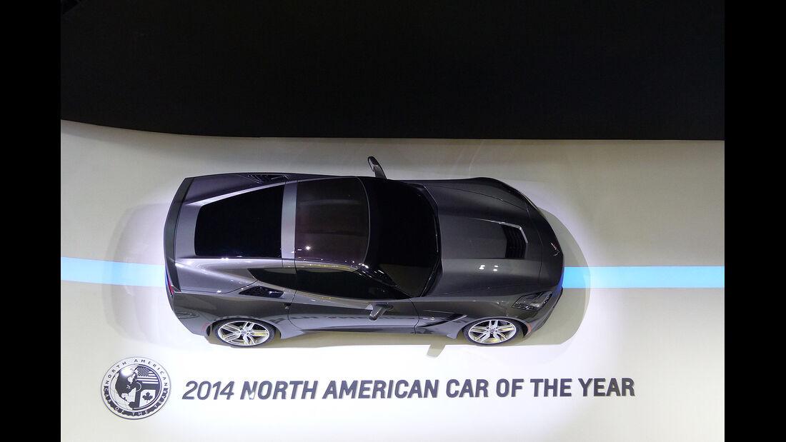 Chevrolet Corvette C7 Stingray, Detroit Motor Show, NAIAS