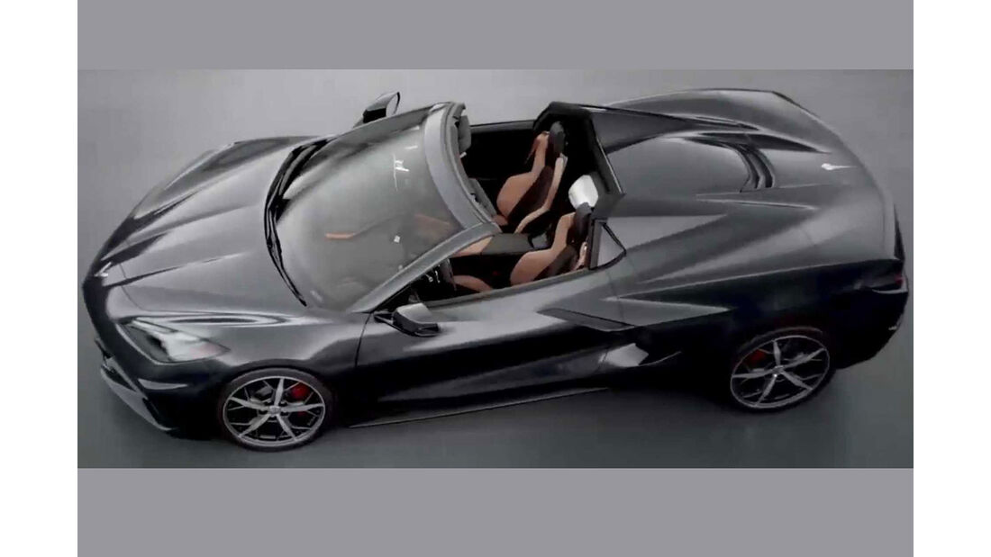 Chevrolet Corvette C8 Cabrio Prototyp