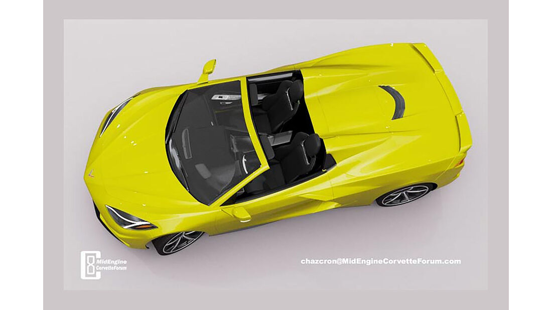 Chevrolet Corvette C8 Cabrio virtuell