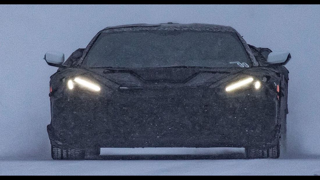 Chevrolet Corvette C8 Erlkönig HOT Version