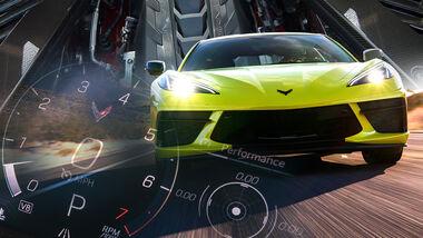 Chevrolet Corvette C8 Motor einfahren Leistung Limit