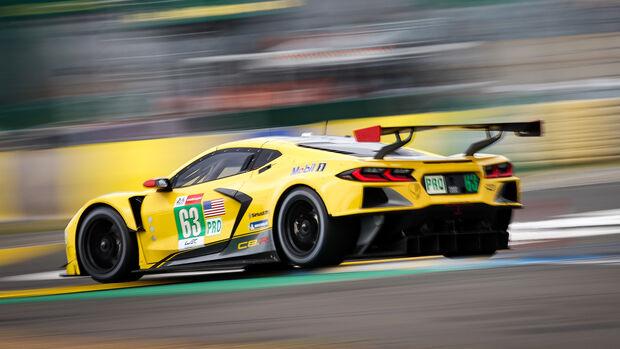 Chevrolet Corvette C8.R - Startnummer #63 - 24h-Rennen Le Mans 2021