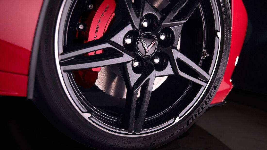 Chevrolet Corvette C8 Sting Ray, Exterieur