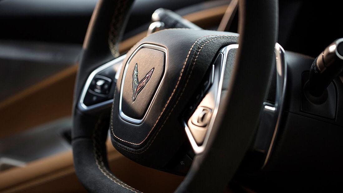 Chevrolet Corvette C8 Sting Ray, Interieur