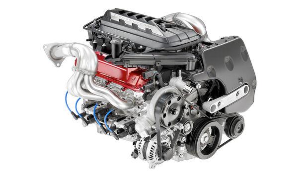 Chevrolet Corvette C8 Sting Ray, Motor