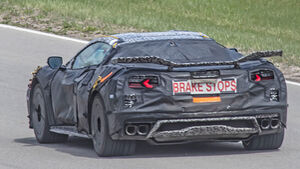 Chevrolet Corvette C8 Z06 Erlkönig