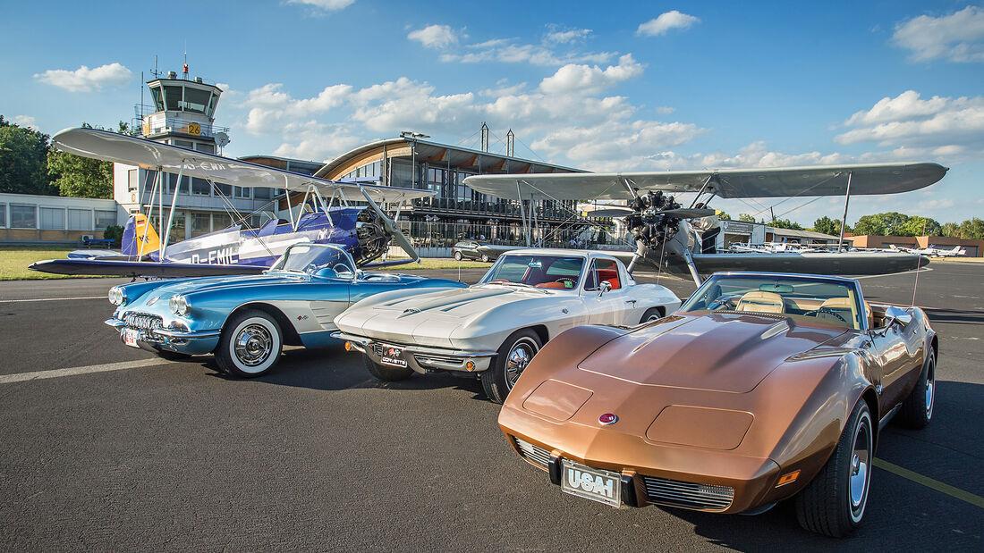 Chevrolet Corvette Generationen, Frontansicht