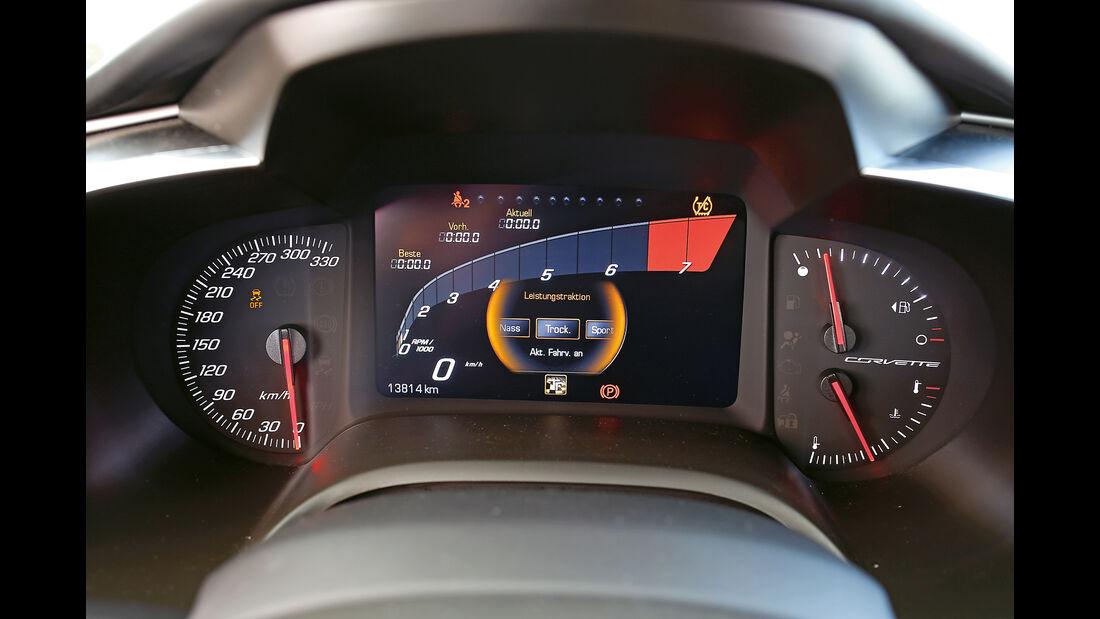 Chevrolet Corvette Grand Sport, Anzeigeinstrumente