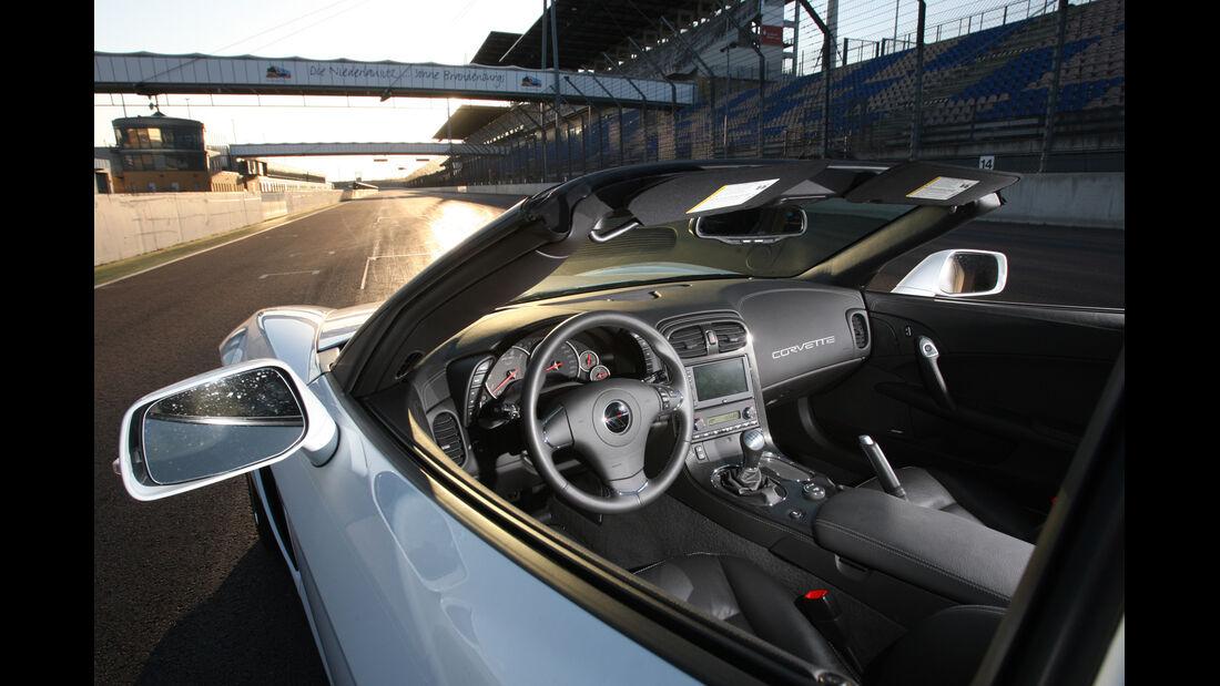 Chevrolet Corvette Grand Sport, Cockpit