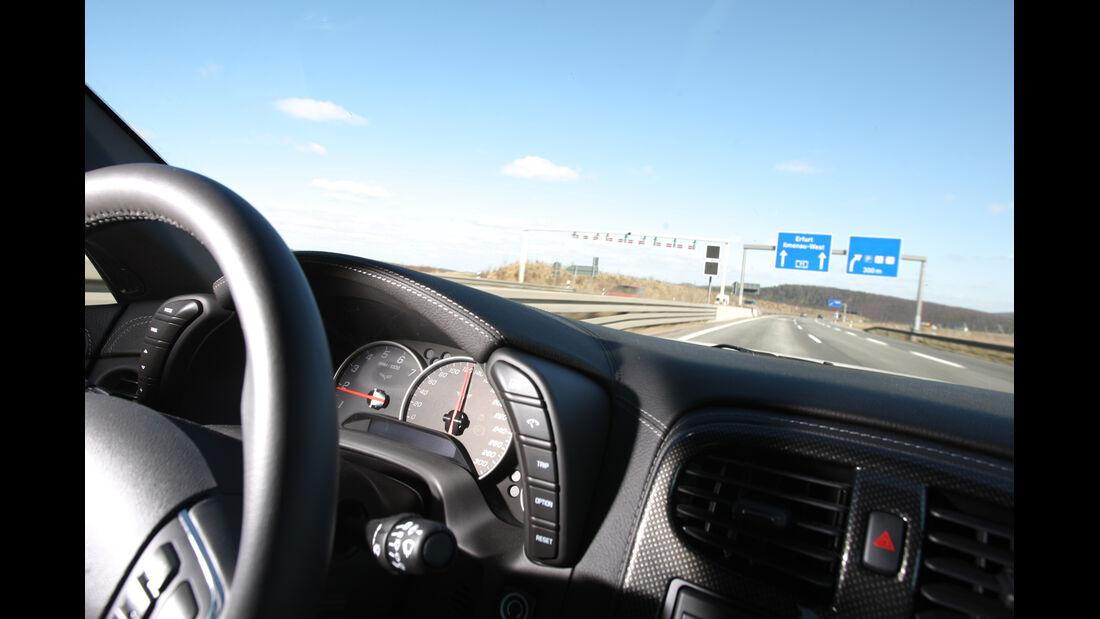 Chevrolet Corvette Grand Sport, Cockpit, Lenkrad