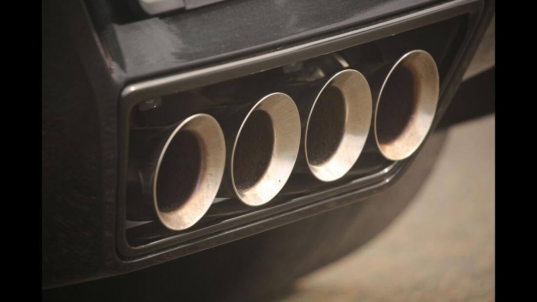 Chevrolet Corvette Grand Sport, Endrohre