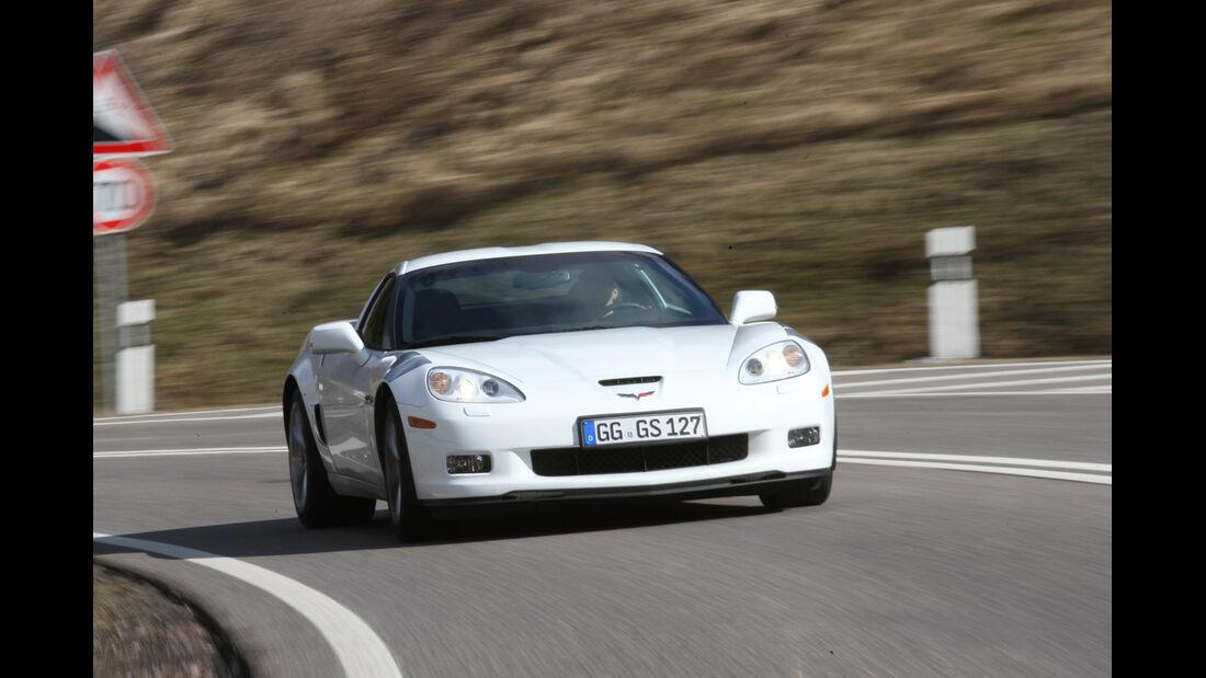 Chevrolet Corvette Grand Sport, Frontansicht