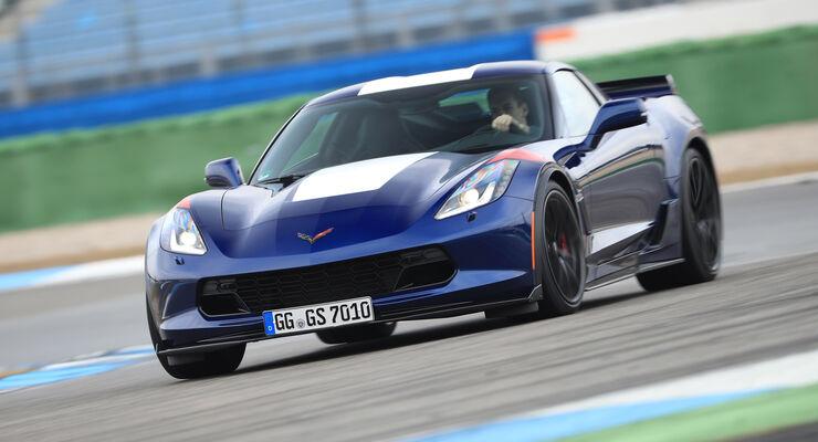 Corvette Grand Sport Coupé 6.2 V8 im Test - auto motor und sport