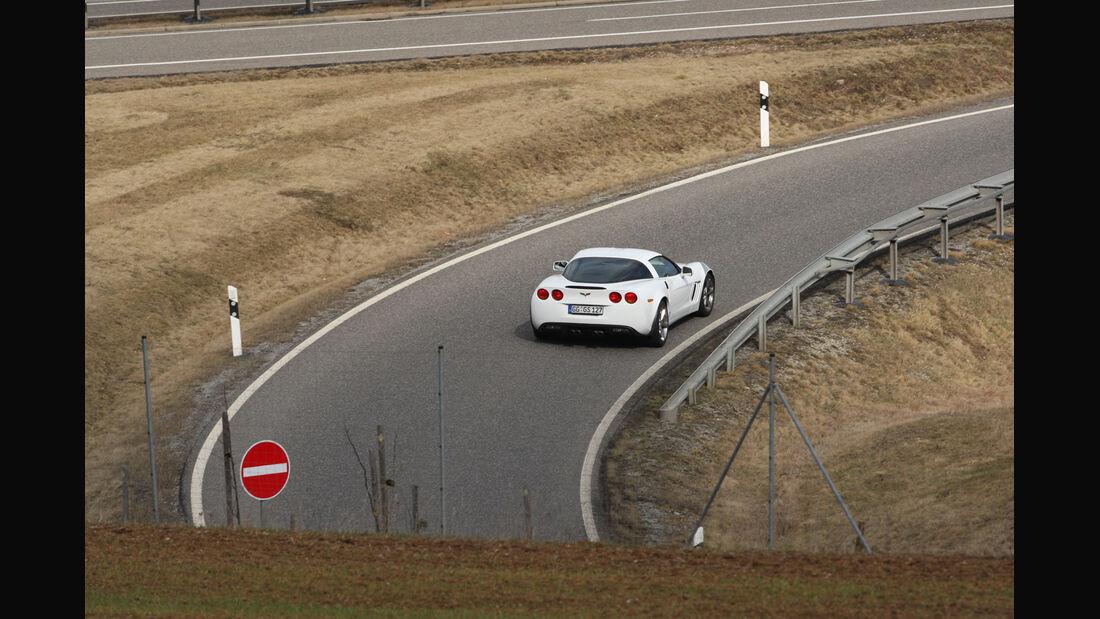 Chevrolet Corvette Grand Sport, Heck