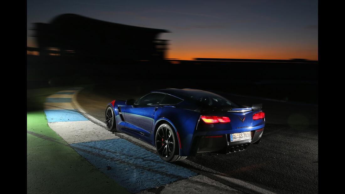 Chevrolet Corvette Grand Sport, Heckansicht