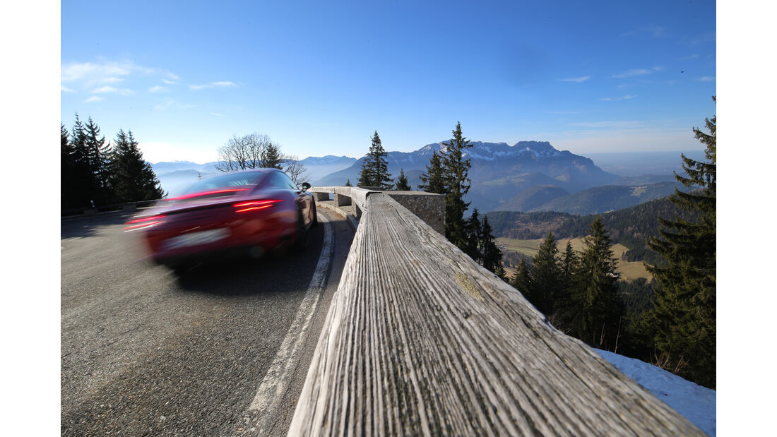 Chevrolet Corvette Grand Sport, Porsche 911 Carrera GTS, Impression