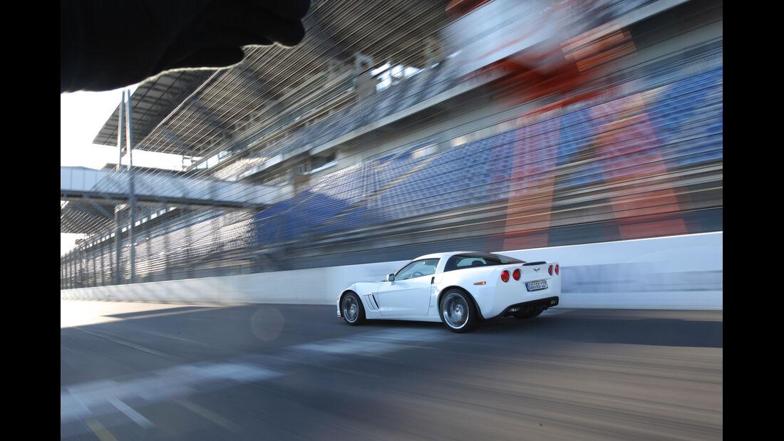 Chevrolet Corvette Grand Sport, Rennstrecke, Seitenansicht