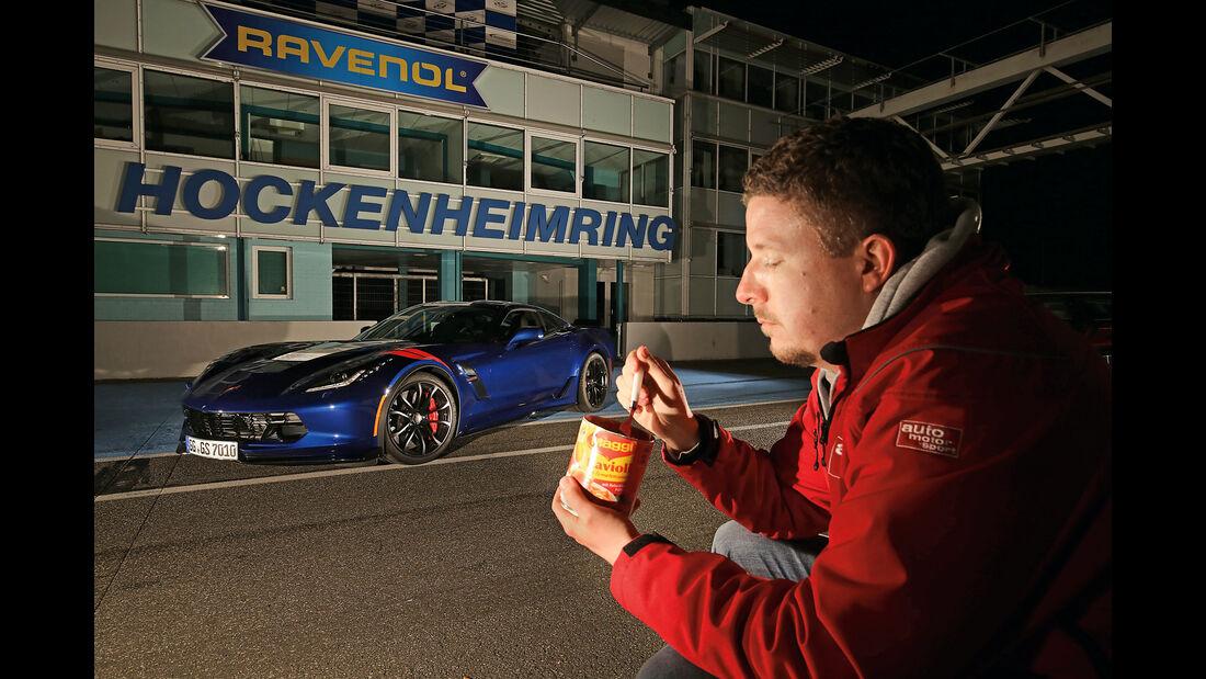 Chevrolet Corvette Grand Sport, Seitenansicht