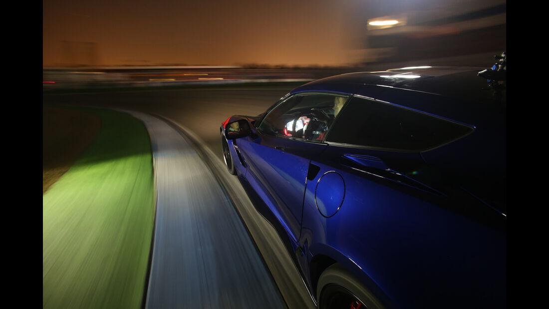 Chevrolet Corvette Grand Sport, Seitenführung