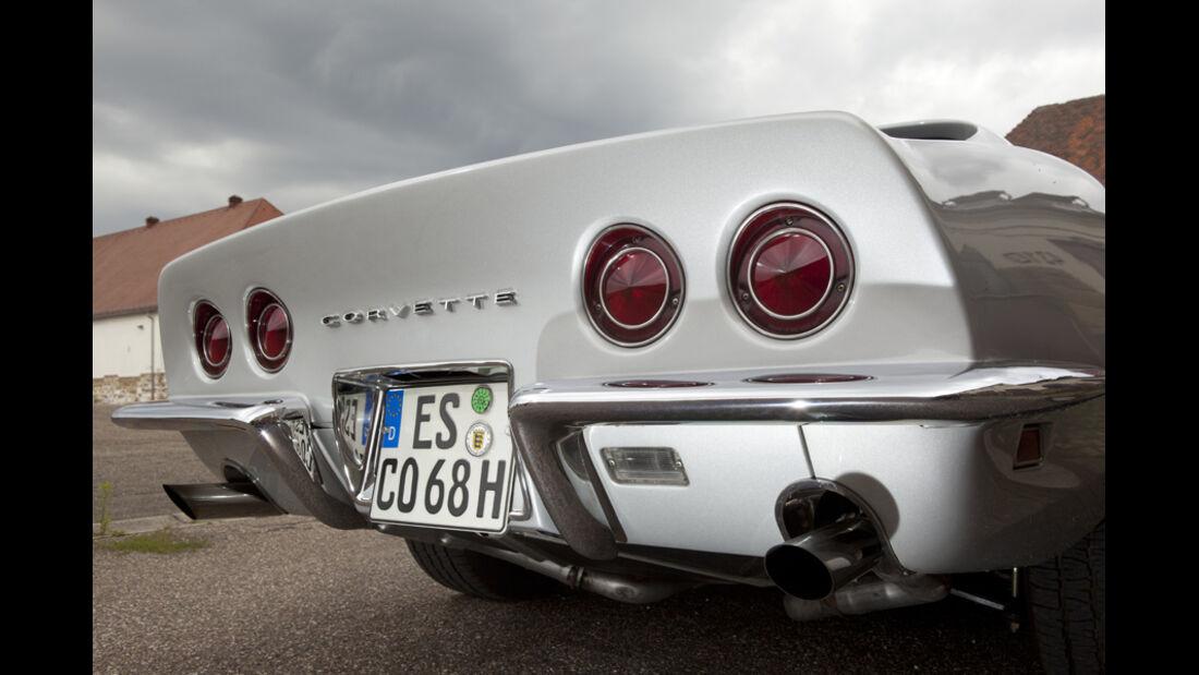Chevrolet Corvette, Heck, Heckspoiler