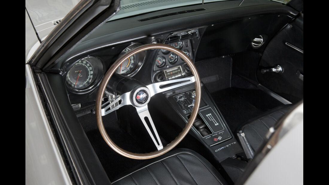 Chevrolet Corvette, Lenkrad