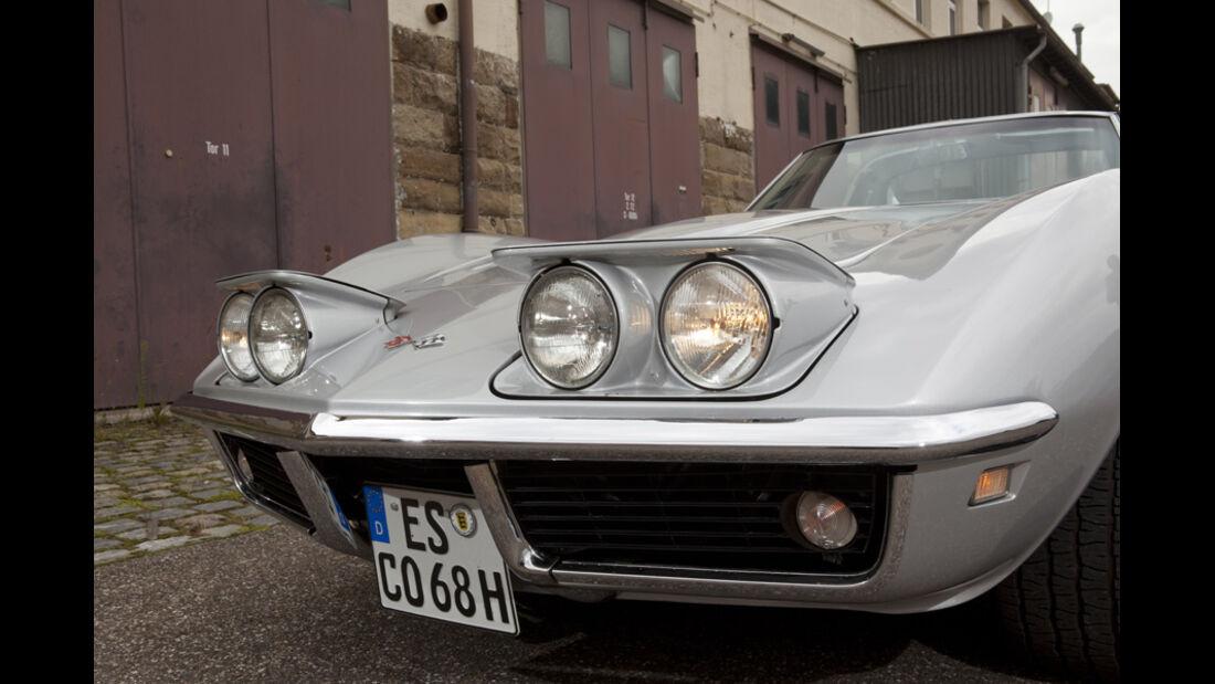 Chevrolet Corvette, Scheinwerfer, Frontscheinwerfer