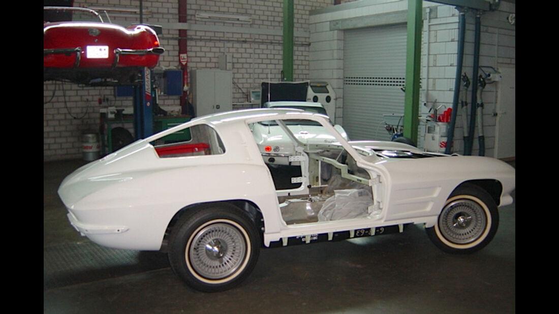 Chevrolet Corvette Sting Way, Chassis, Seitenansicht
