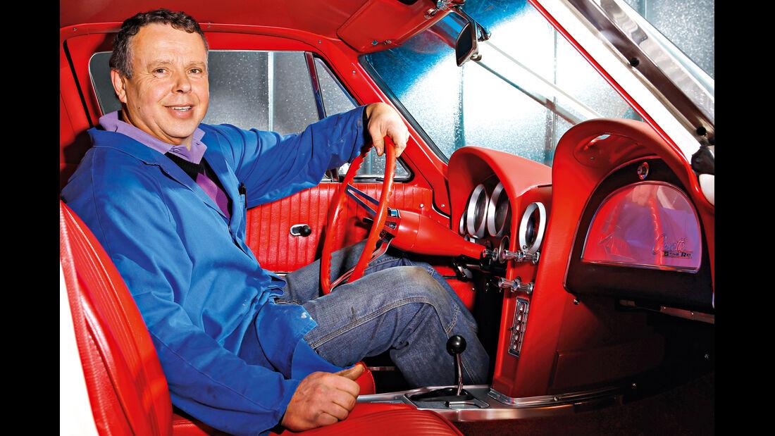 Chevrolet Corvette Sting Way, Cockpit, Wolfgang Stärk