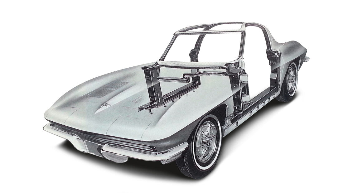 Chevrolet Corvette Sting Way, Karosse