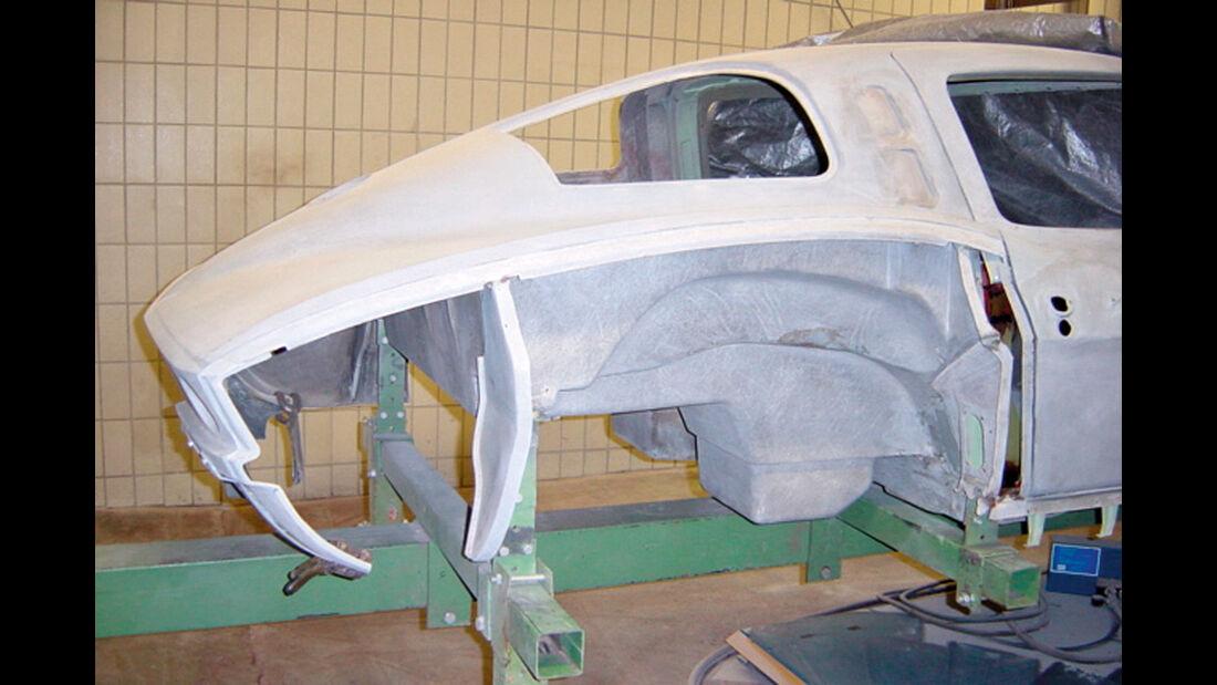 Chevrolet Corvette Sting Way, Karosseriearbeiten