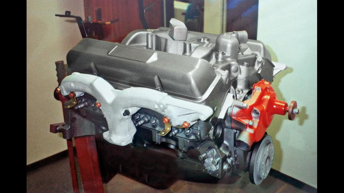 Chevrolet Corvette Sting Way, Motorblock