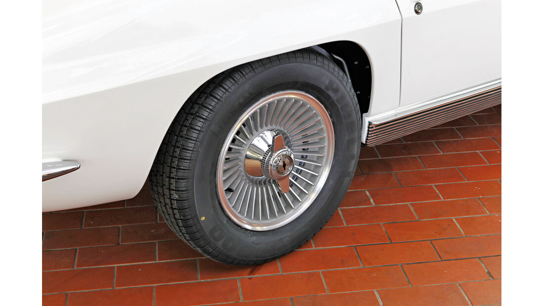 Chevrolet Corvette Sting Way, Rad, Felge