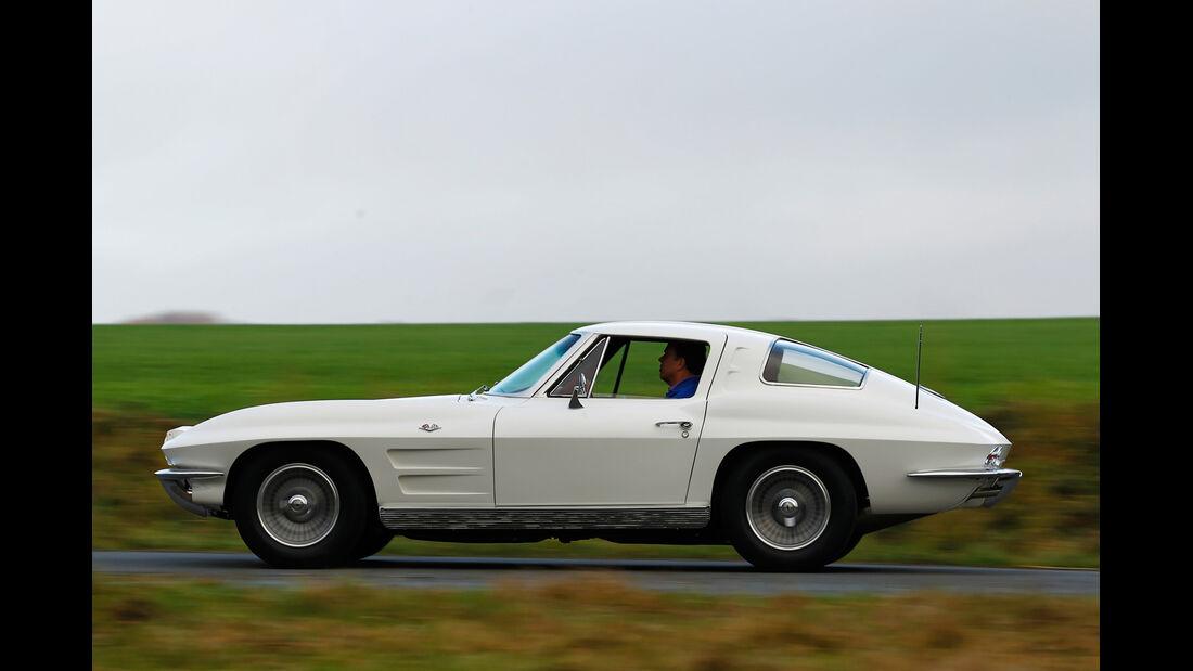 Chevrolet Corvette Sting Way, Seitenansicht