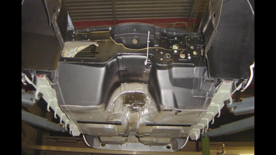 Chevrolet Corvette Sting Way, Unterboden