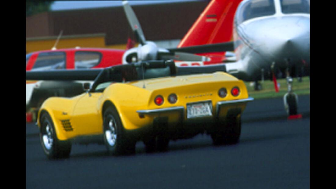 Chevrolet Corvette Stingray 454 - Heckansicht