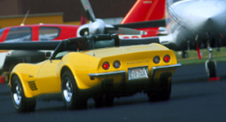 Chevrolet Corvette Stingray 454 - Heckansicht