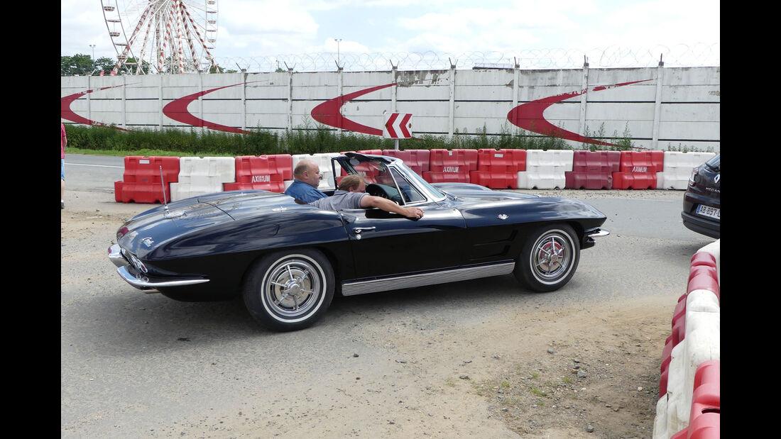 Chevrolet Corvette Stingray Cabrio - Carspotting - 24h Le Mans 2018