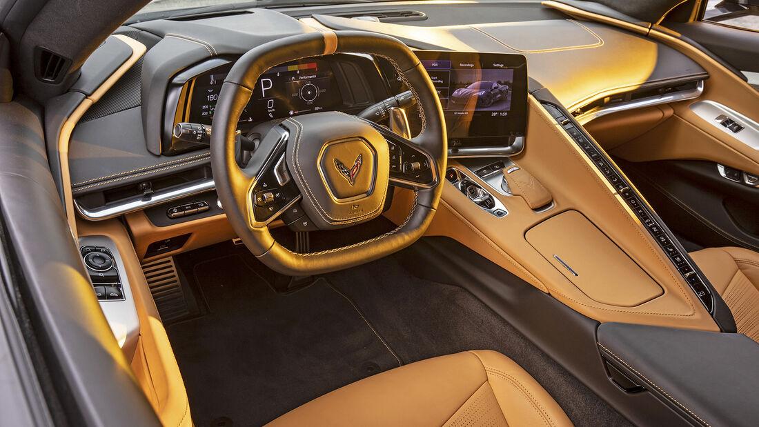 Chevrolet Corvette Stingray, Interieur