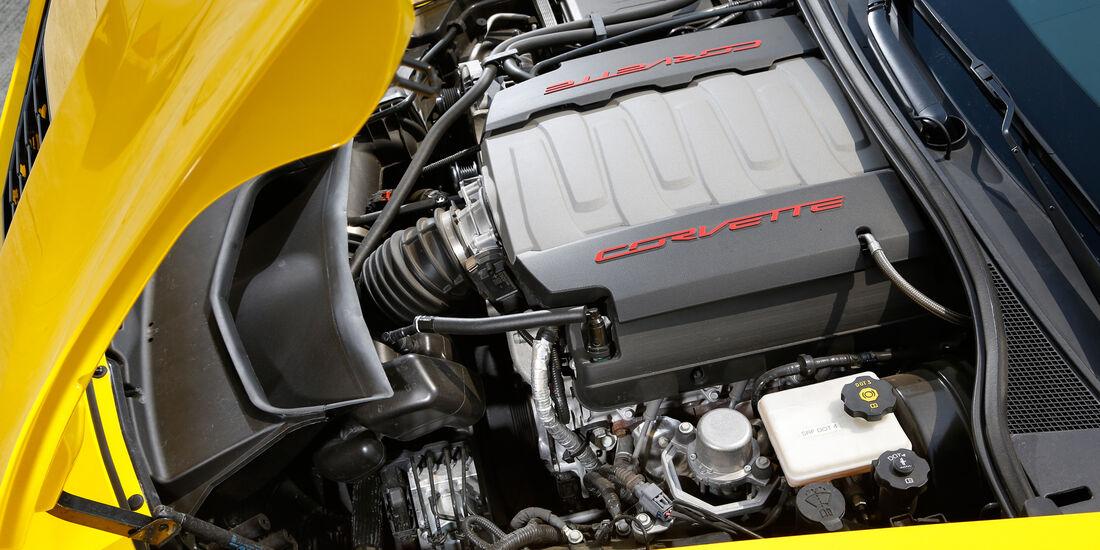Chevrolet Corvette Stingray, Motor