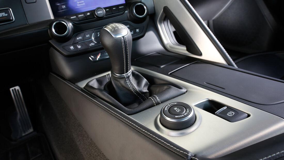 Chevrolet Corvette Stingray, Schalthebel