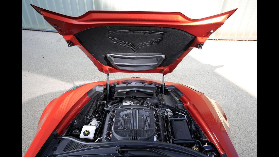 Chevrolet Corvette Z06 Cabriolet, Motor