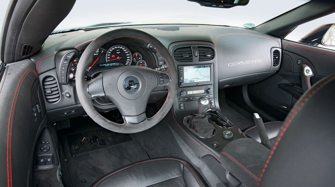 Chevrolet Corvette Z06, Cockpit