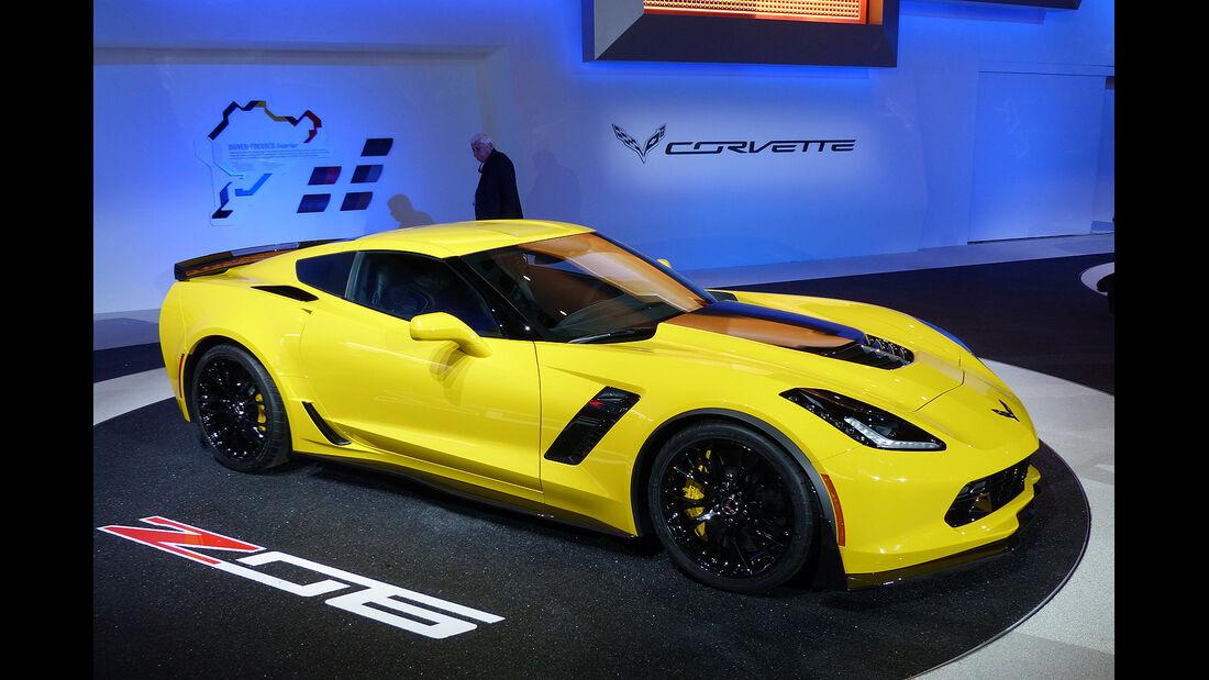 Chevrolet Corvette Z06, Detroit Motor Show, NAIAS