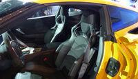 Chevrolet Corvette Z06, Detroit Motor Show, NAIAS, Cockpit, Wählhebel, Innenraum