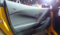 Chevrolet Corvette Z06, Detroit Motor Show, NAIAS,Türverkleidung