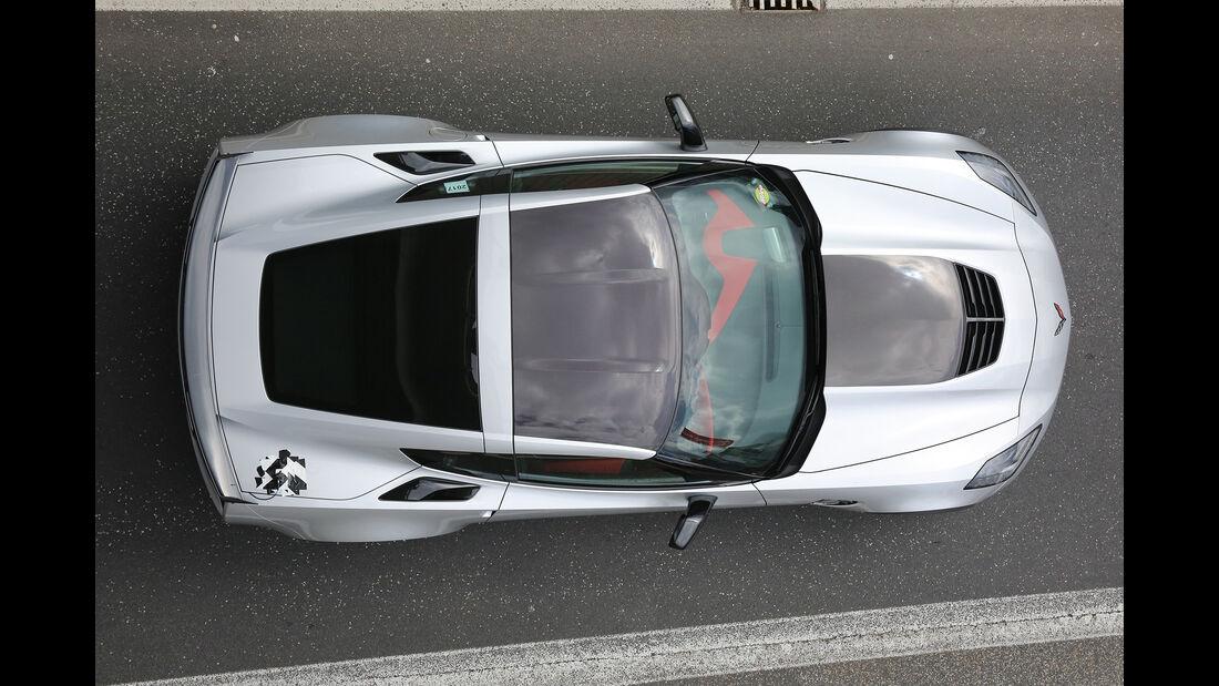 Chevrolet Corvette Z06, Draufsicht