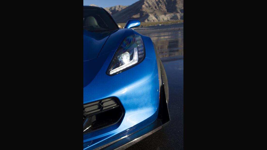 Chevrolet Corvette Z06, Fahrbericht, Rad