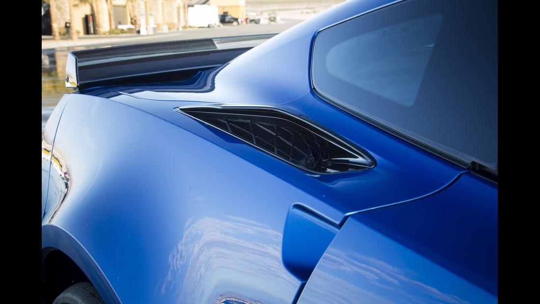 Chevrolet Corvette Z06, Fahrbericht, Spoiler